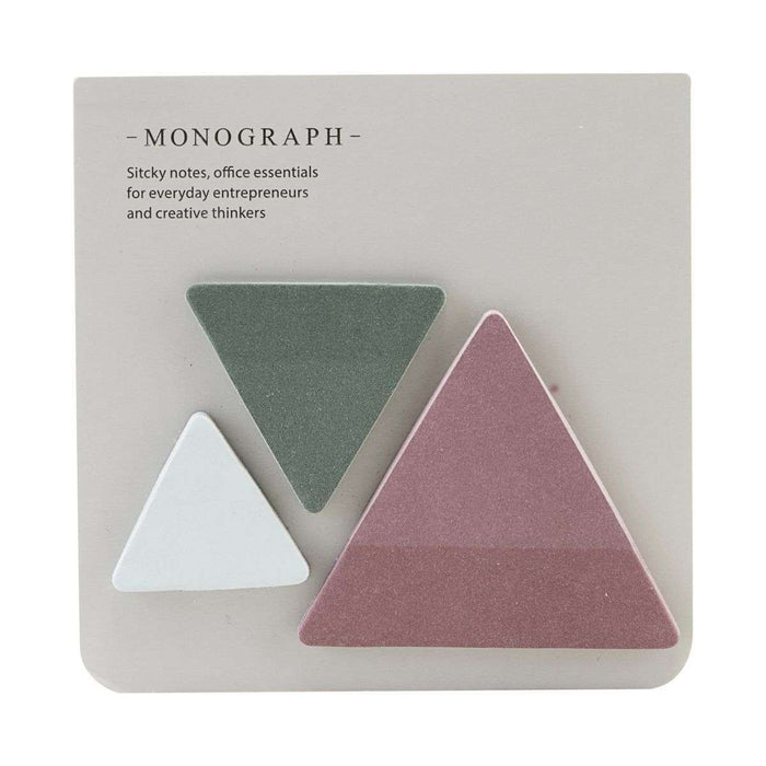 Triangle Round Sticky Notes