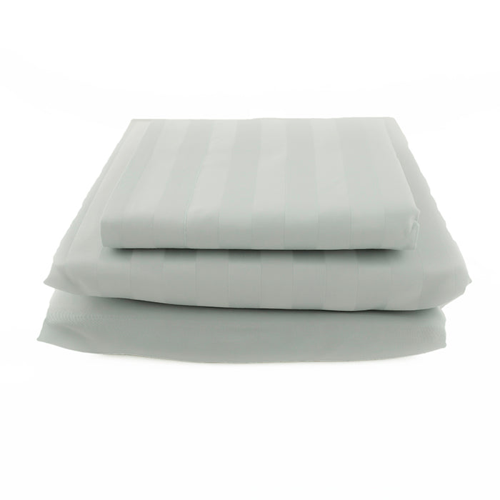 The Basic Bundle - Sateen Stripe in Mint
