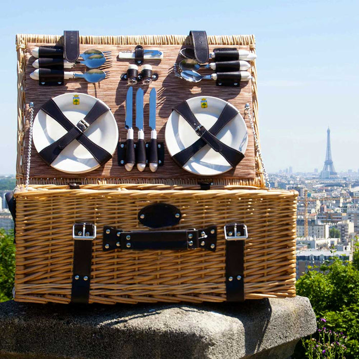 Louvre Picnic Basket for 6
