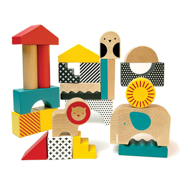 Animal Town Wooden Blocks