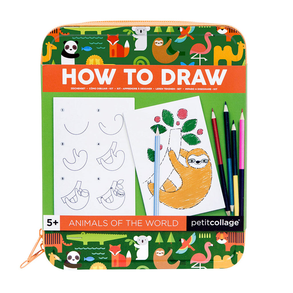 How to Draw - Animals of the World