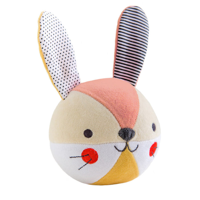 Organic Soft Chime Ball - Bunny