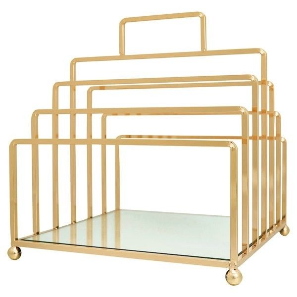 GreenGate Magazine Holder - Gold