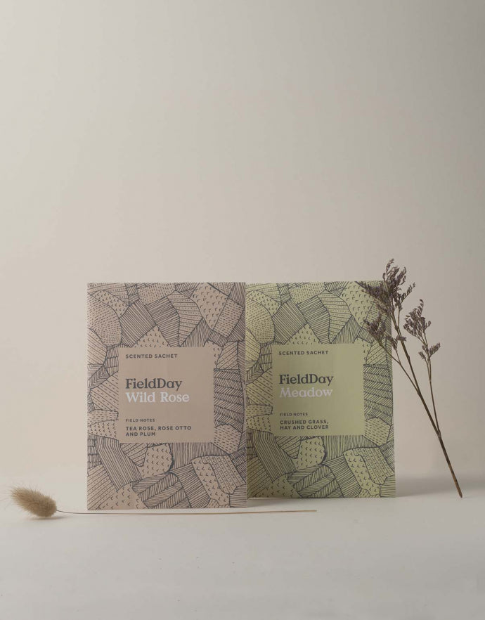 Field Day Wild Rose Scented Sachet