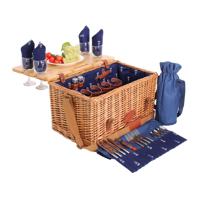 Saint-Honoré Picnic Basket for 4 People