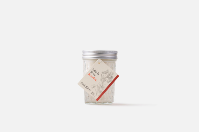 Field Day Rosehip Jam Jar Candle