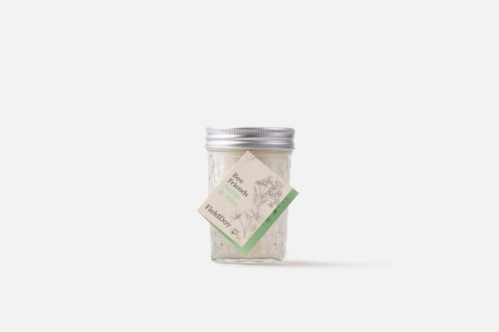 Nettle & Mint Jam Jar Candle