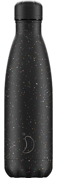 Chilly's Black Speckled Water Bottle - 500ml