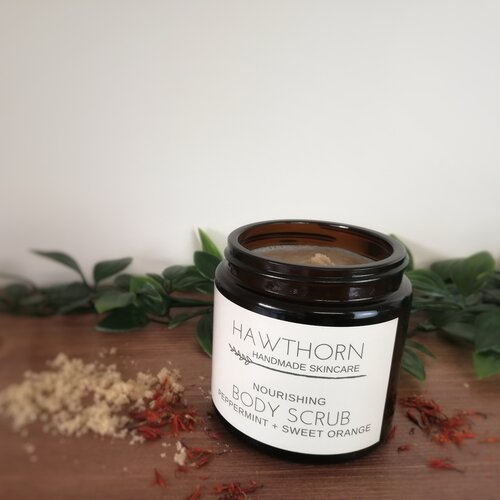 Nourishing Body Scrub with Peppermint and Sweet Orange