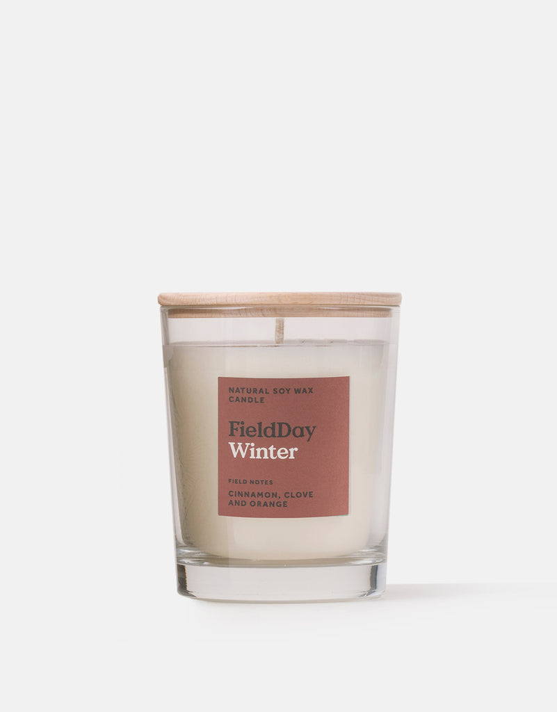 Field Day Winter Large Candle