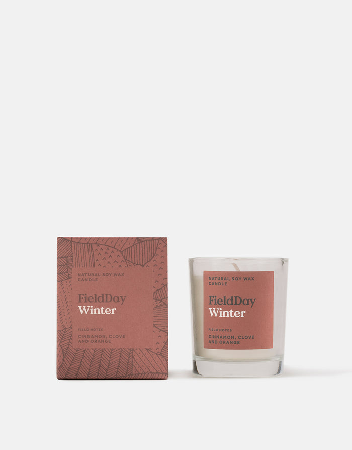Field Day Winter Small Candle