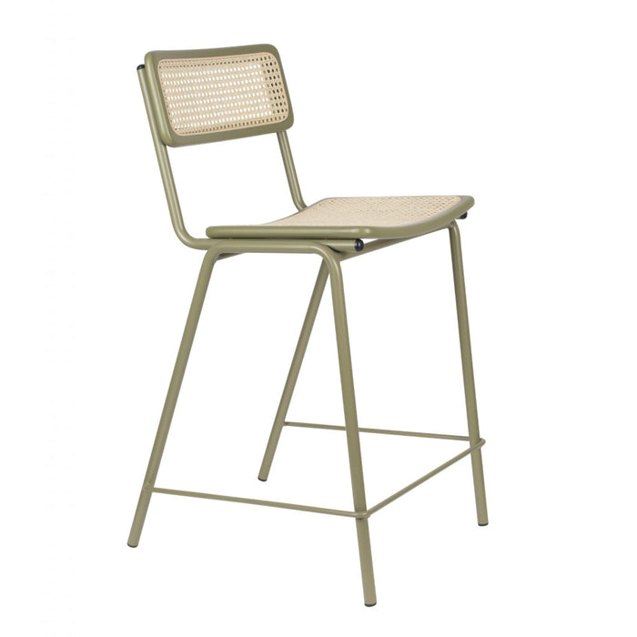 Jort Barstool - Green/Natural