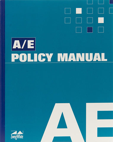 A/E Policy Manual and CD-ROM