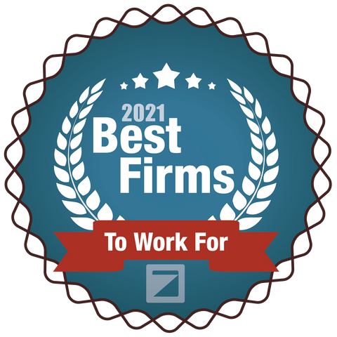 2021 Best Firms To Work For Entry