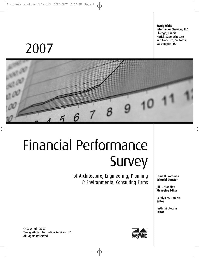 2007 Financial Performance Survey