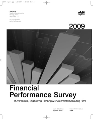 2009 Financial Performance Survey