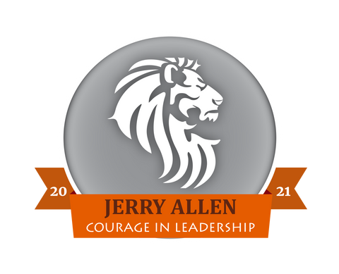 2021 Jerry Allen Courage in Leadership Award