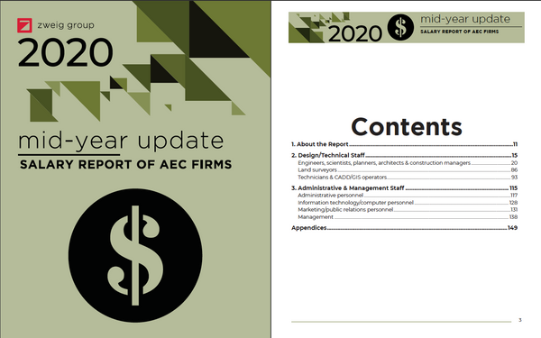 Mid-Year Update 2020 Salary Report of AEC Firms