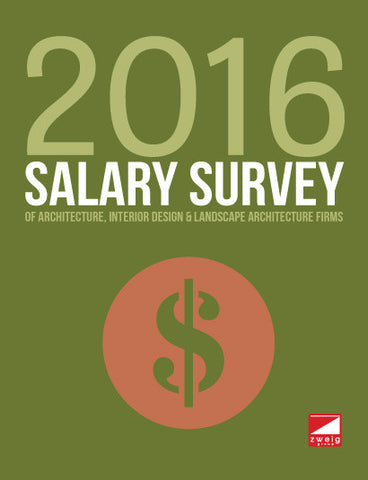 2016 Salary Survey of Architecture, Interior Design & Landscape Architecture Firms
