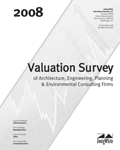 2008 Valuation Survey