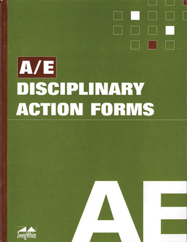 A/E Disciplinary Action Forms