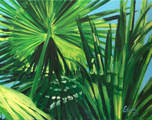Atlantic Street Palms Study II