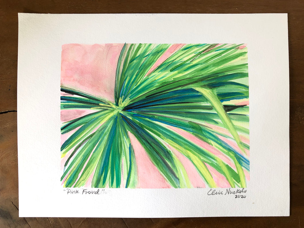 Pink Frond