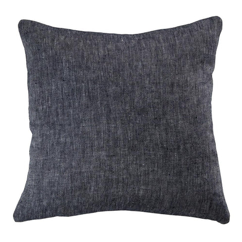 Denim Linen Pillow Cover