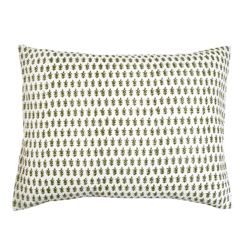 Amelie Pillow Cover in Olive (Pair)