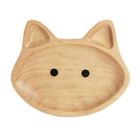 Cat Wooden Plate