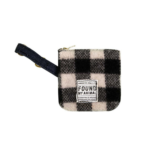 Black-and-White Multi-Use Pouch