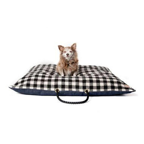Black-and-White Dog Bed
