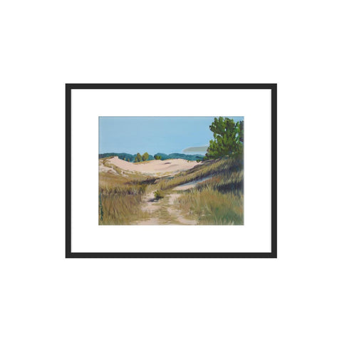 Along the Cottonwood Trail by Carolyn Damstra for Artfully Walls