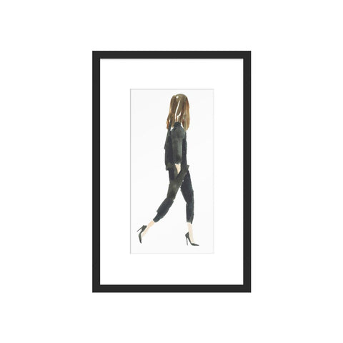 Black Suit by Caitlin McGauley for Artfully Walls