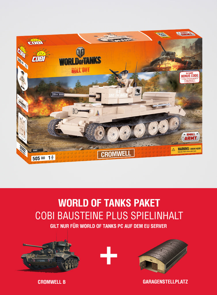 World of Tanks Bundle Cromwell Construction Blocks + special in-game content