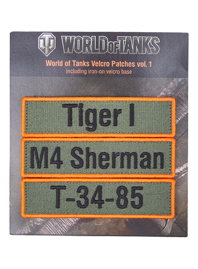 World of Tanks Velcro Patches vol.1