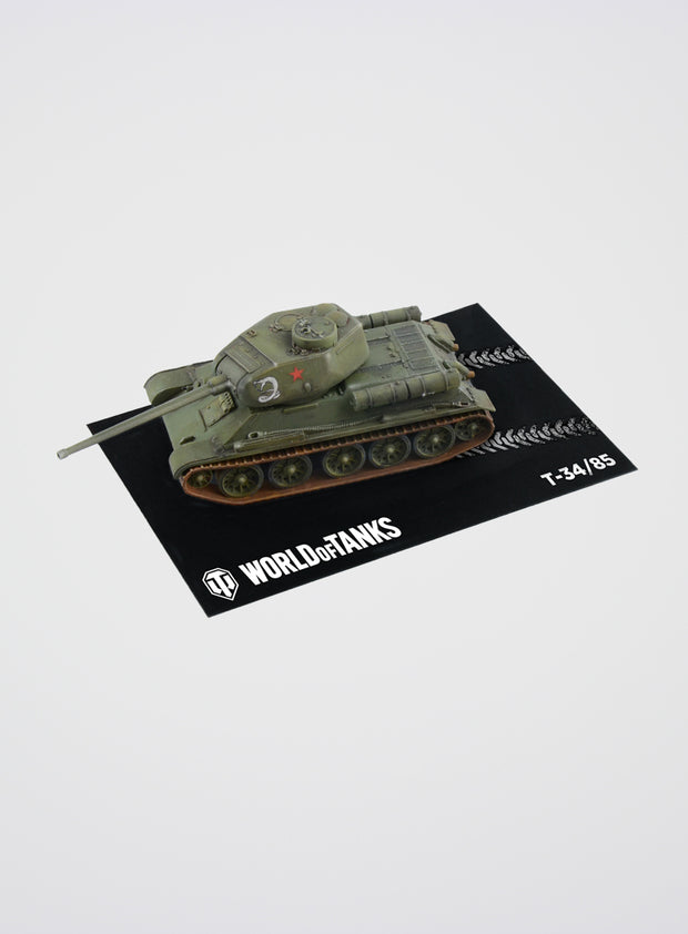 World of Tanks Model Kit T-34/85 Fast Assembly (1:72)