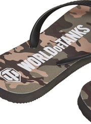 World of Tanks Camo Flip Flops