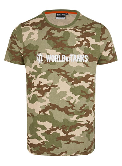 World of Tanks Camo Logo T-shirt