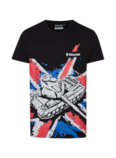World of Tanks T-shirt UK Flag