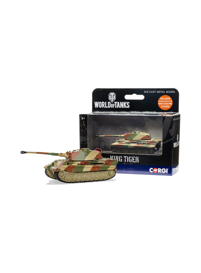 World of Tanks diecast King Tiger Tank 1:72
