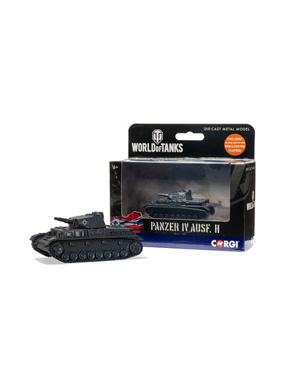 World of Tanks diecast model Panzer IV Ausf. H  Tank 1:72