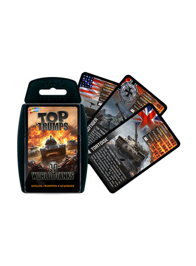 World of Tanks Top Trumps German