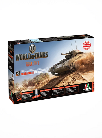 World of Tanks Model Kit Crusader III (1:35)
