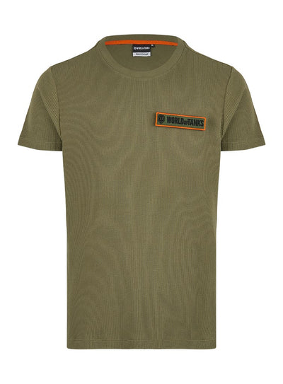 World of Tanks Waffle Piquet Garment Dye T-shirt
