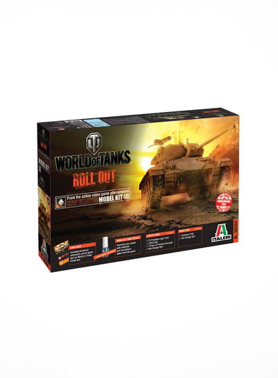 World of Tanks Model Kit M24 Chaffee(1:35)