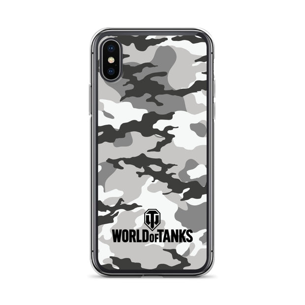 World of Tanks iPhone Case Snow Camo