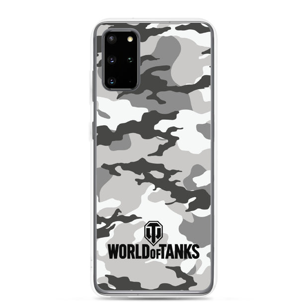 World of Tanks Classic Samsung Case Snow Camo