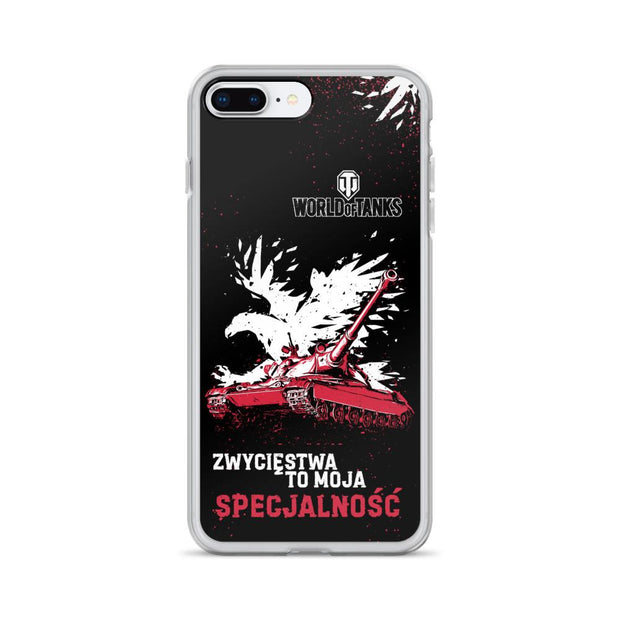 World of Tanks National iPhone Case PL 60TP Lewandowskiego