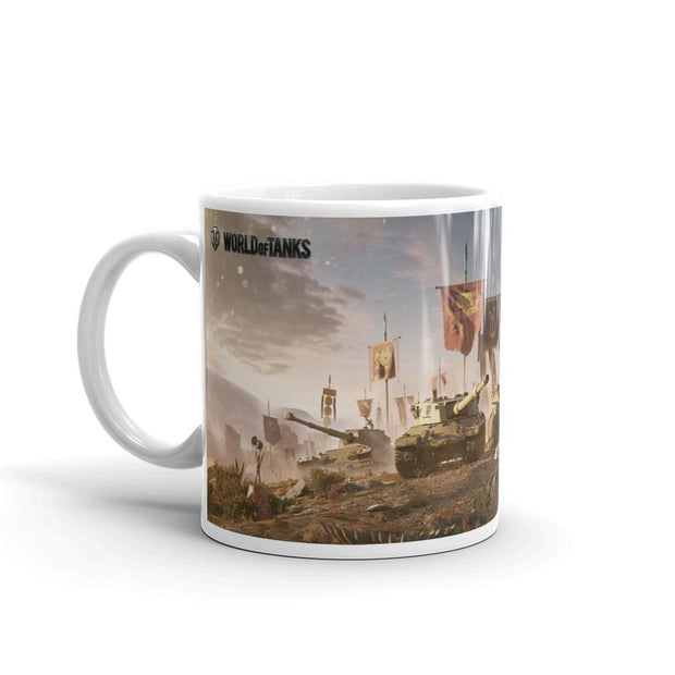 World of Tanks Mug Italian Brawlers